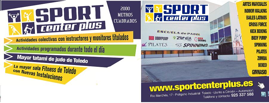 Sport center plus for Gimnasio toledo